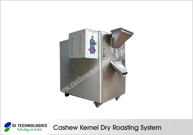 Cashew Kernels Roasting Systems