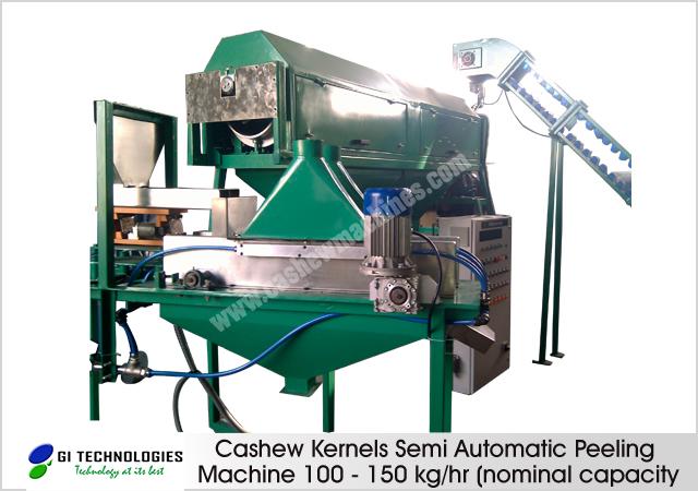 Cashew Kernels Peeling Machines