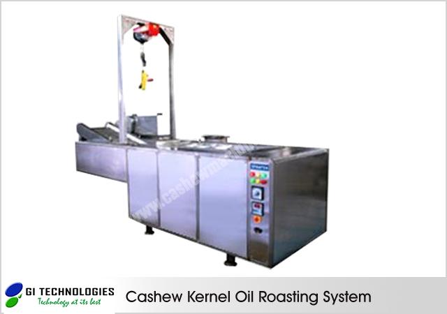 Cashew Kernel Oil Roasting System
