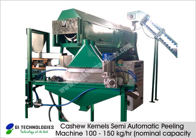 Cashew Kernels Semi Automatic Peeling Machine