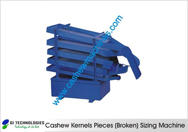 Cashew Kernels Sizing Machine
