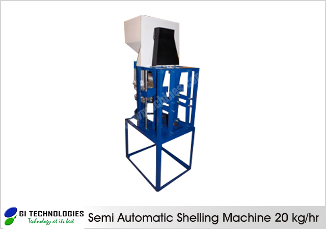 Semi Automatic Shelling Machine 25kg/hour