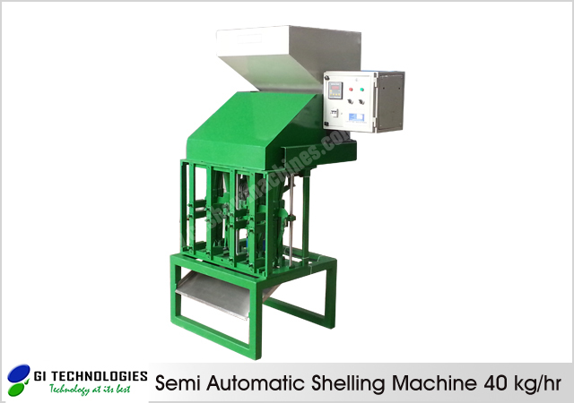Semi Automatic Shelling Machine 40 kg